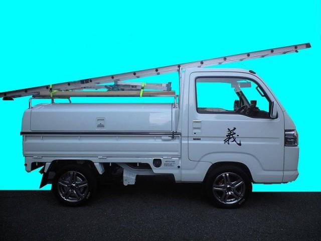 軽トラ荷台ボックス「トラボ」 特徴 その④ 長尺物も積載可能