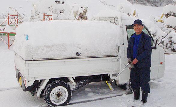 軽トラ荷台ボックス「トラボ」  特徴 その③ 雨・雪でも安心