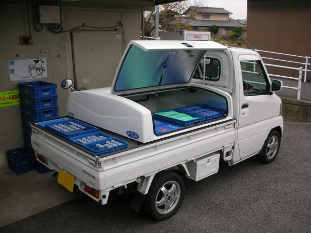 軽トラ荷台ボックス 「トラボ」 特徴 その⑤ 保冷・保温できるタイプも設定
