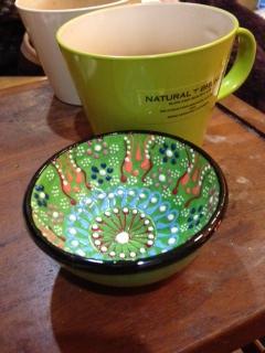 トルコ雑貨:陶器 倉敷美観地区