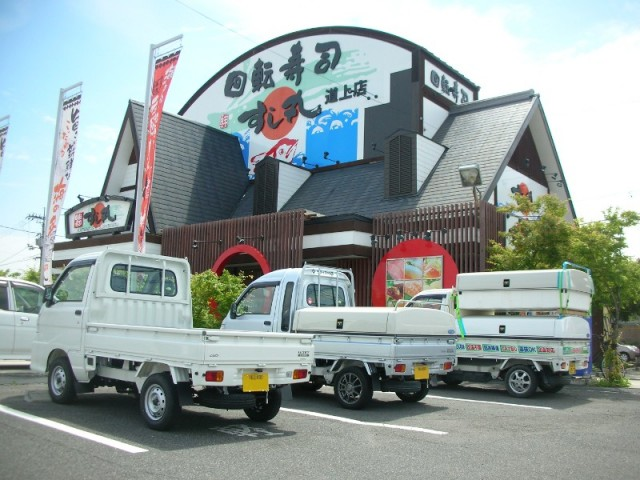 あっぱれすし丸 道上店様(回転寿司店)広島県
