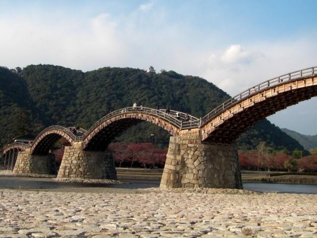 錦帯橋に「釘」は使われていた!