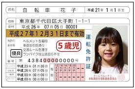自転車免許証
