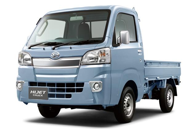 軽トラ 青色系統