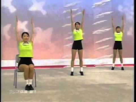 山陽レジン工業 朝礼前のラジオ体操