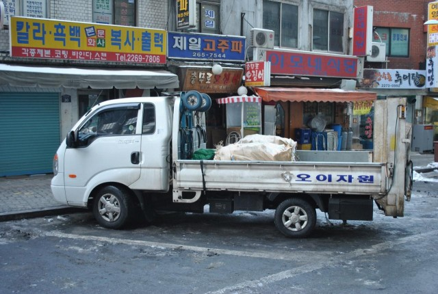 韓国 トラック