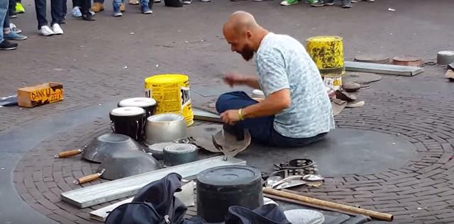 ストリートドラム動画 みる価値あり