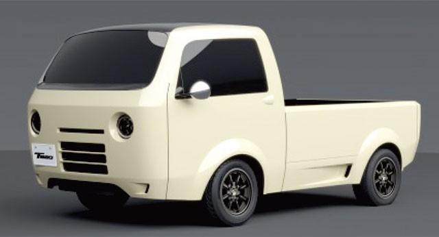 ホンダが作った 軽トラ コンセプトカー【T880】 女性からおじさんまで大人気!