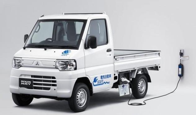 【電気な軽トラック】ミニキャブ・ミーブ トラックはまだ三菱製だった!