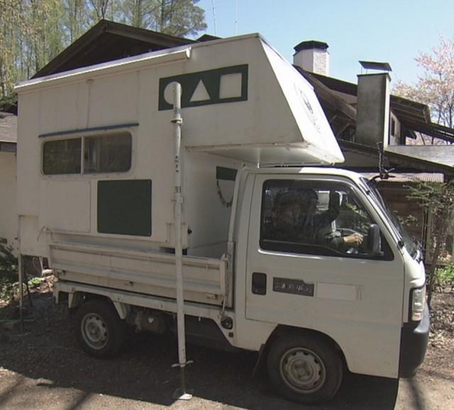 NHK 軽トラ改造
