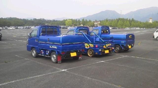 軽トラ スバル サンバー  WRブルー