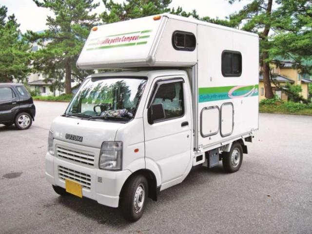 軽トラ キャンピングカー2