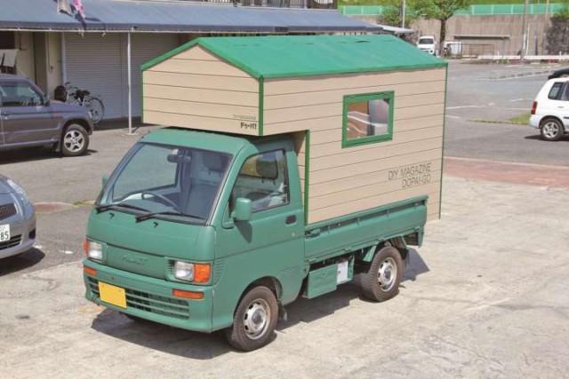 軽トラ キャンピングカー
