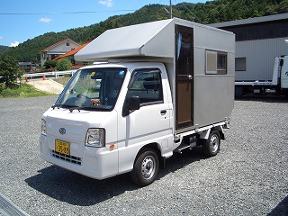 軽トラ キャンピングカー 3