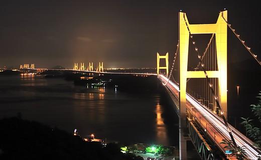 瀬戸大橋 夜景