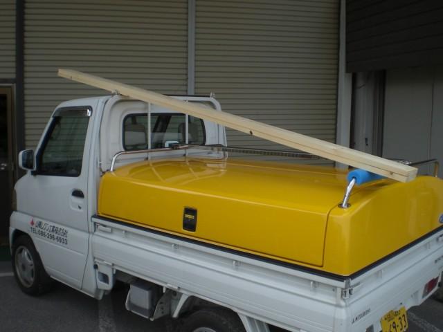 軽トラの荷物はどのくらいの大きさまで運べるの?