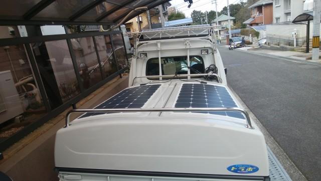 大阪府 K様 ジャンボ用タイプ ソーラーパネル設置