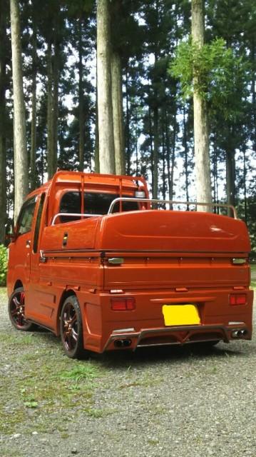 熊本県 軽トラ荷台 5