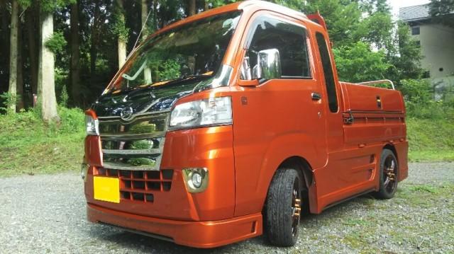 熊本県 軽トラ荷台 4