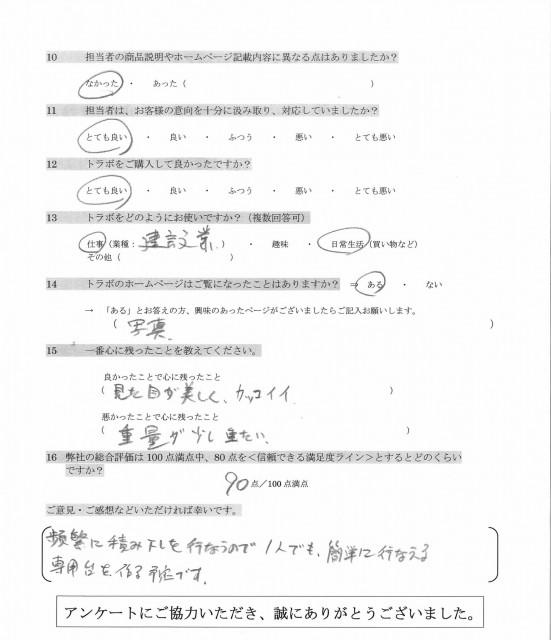 軽トラアンケート2