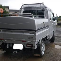 軽トラ荷台ボックス3