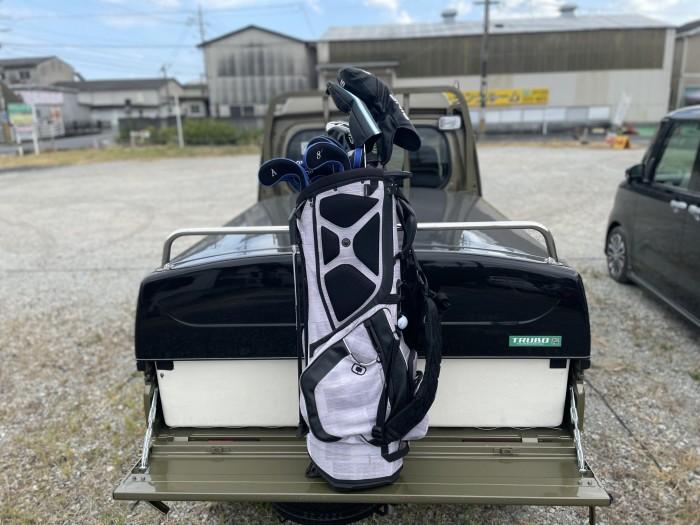 トラボを載せたまま背の高い荷物を軽トラに載せる裏技を紹介!ジャンボ編